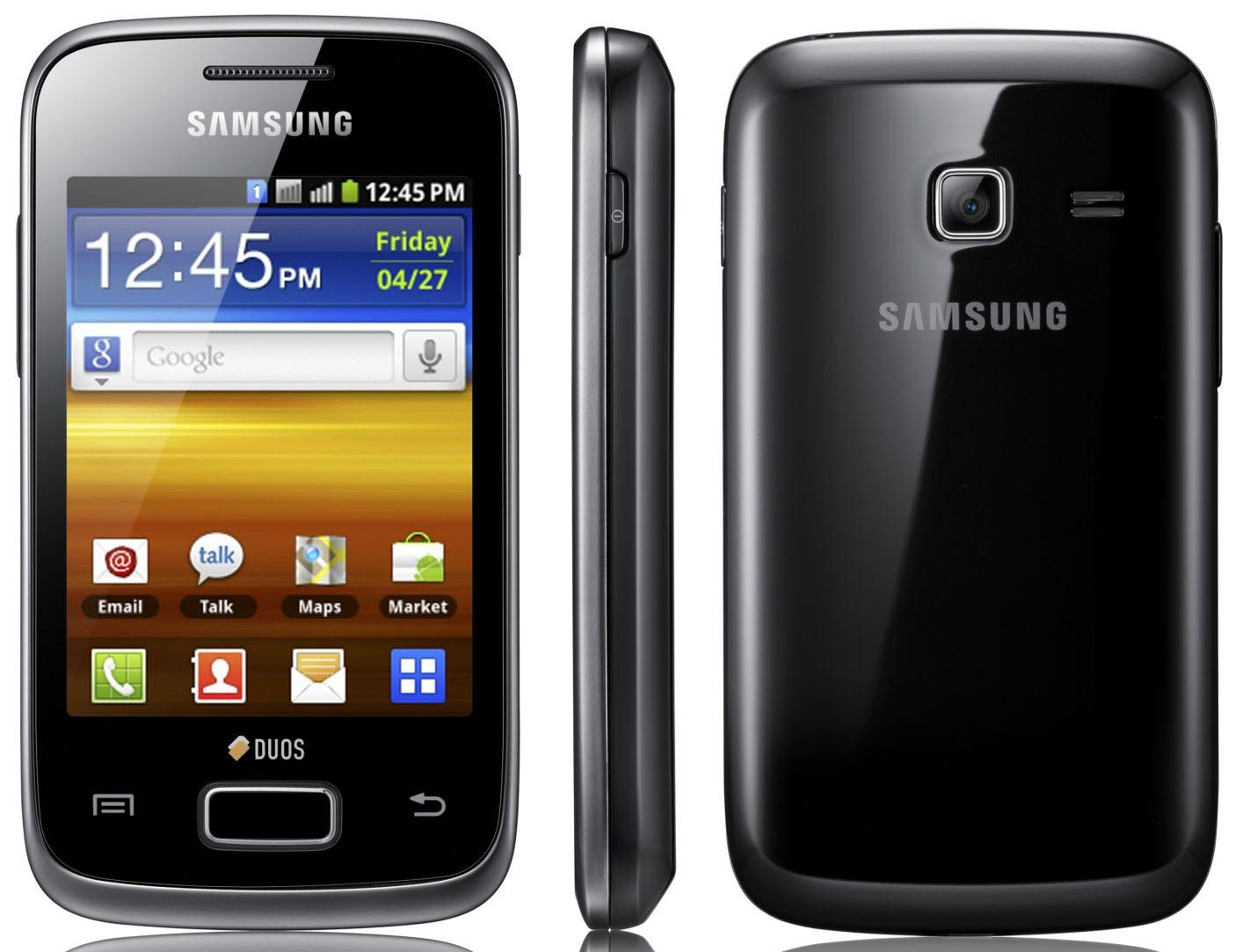 cara upgrade samsung Galaxy Y ke Android Jelly bean 4.2