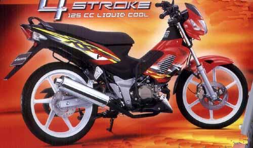 Honda Sonic 125. Diupgrade Untuk Mnyaingi Satria FU?