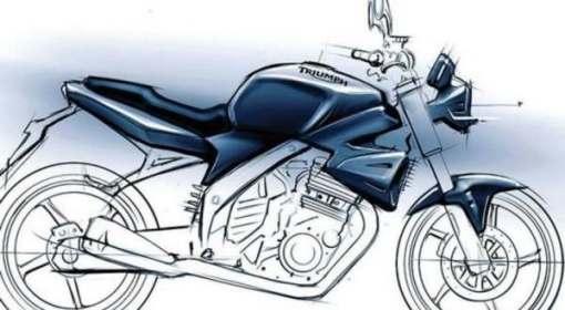 Sketsa Triumph 250 (pic. autoevolution)