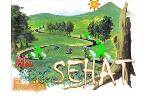 Aku dan Bumiku Sehat. Poster dari http://inarotutdarojah.blogspot.com