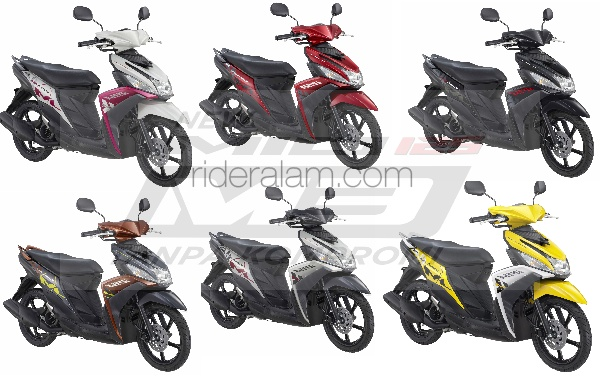 Blue Core Yamaha Mio Mio m3 Blue Core Membuat Matik