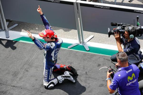 Lorenzo 4 consecutive win
