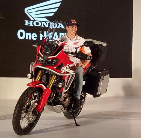 Honda CRF1000L Africa Twin Marc Marquez 400 jutaan