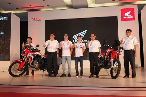Honda Luncurkan CRF1000L Africa Twin dan CRF250 Rally di Jakarta